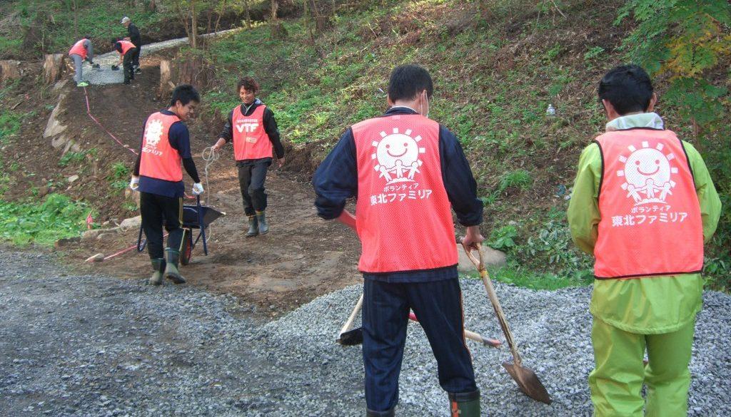南三陸へのボランティア