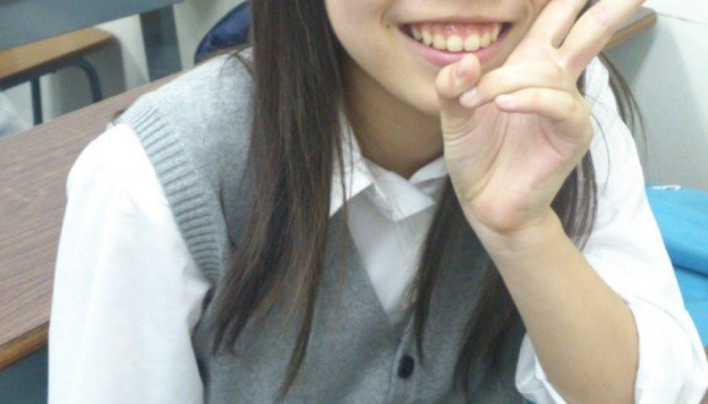 学年2位の笑顔
